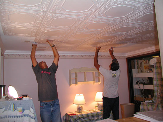 during_installation_of_styrofoam_ceiling_tiles