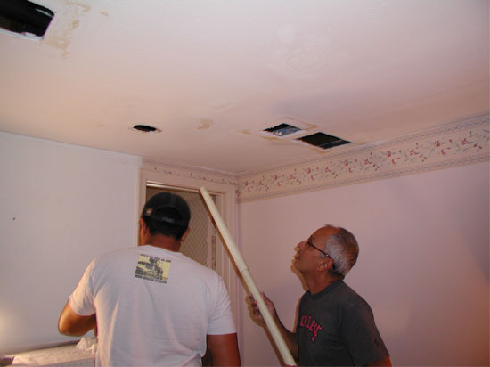 silverstarone_preparing_to_damaged_ceiling_for_styrofoam_ceiling_tiles_fort_lauderdale